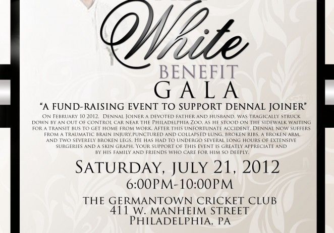 [EVENT] The Family Of Dennal Joiner Presents: All White Benefit Gala Fundaraiser