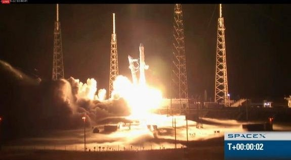 SpaceX Launches Private Capsule on Historic Trip to Space Station