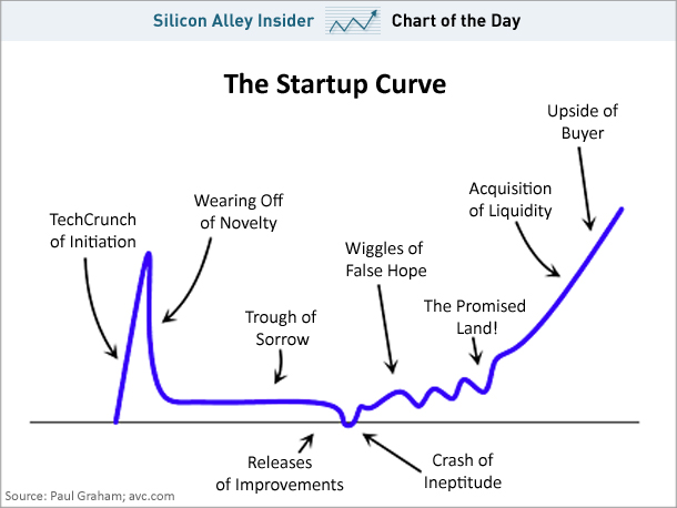InfoGraphic: The Startup Curve