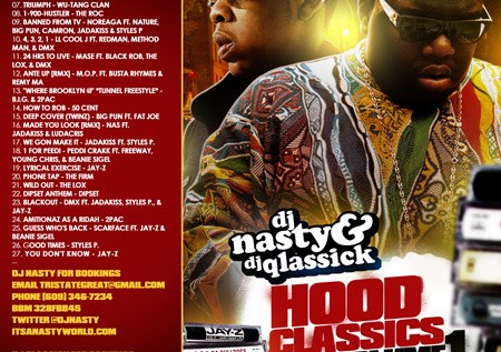 IAmNotARapper x DJQlassick x DJNasty Present: #ClassicFriday Vol. 28 &#8211; #HoodQlassicks