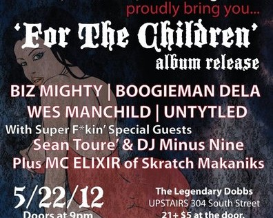 [EVENT] @Boogiemandela x @fakebizmighty Present &#8220;For The Children&#8221; Album Release Party