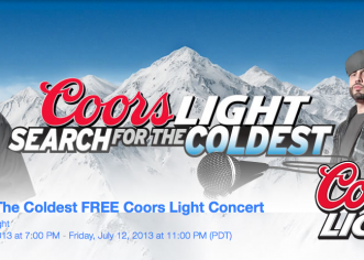 @CoorsLight Presents: #SearchForTheColdest w/@DJDrama @FrenchMontana @BunBTrillOG & @IceCube 7/11 @EFactoryPhilly