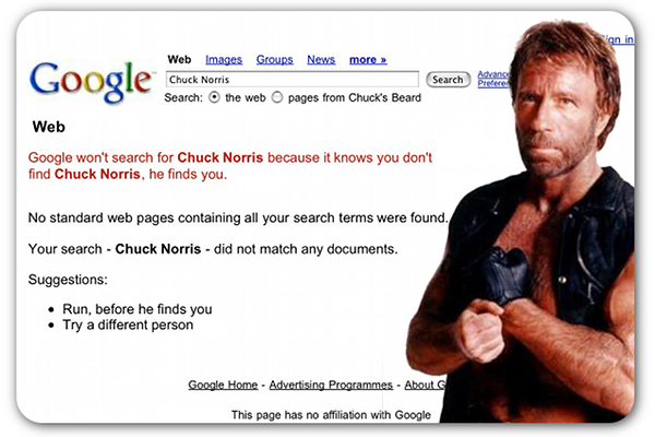 If Chuck Norris Was A…