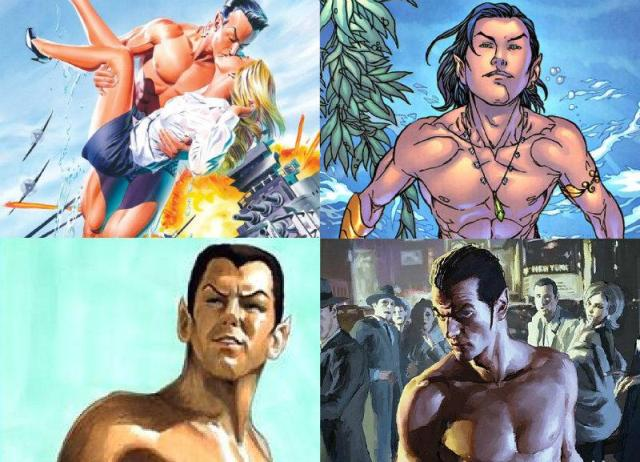 Namor: Black – (Original Comic Book Script) By: Eric Blair (@HeavyAsHeaven84)