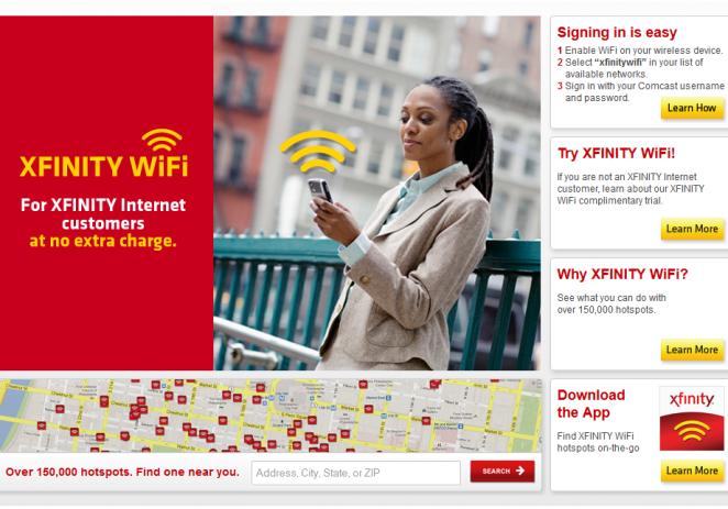 All XFinity WiFi HotSpots Free until August 4th 2013
