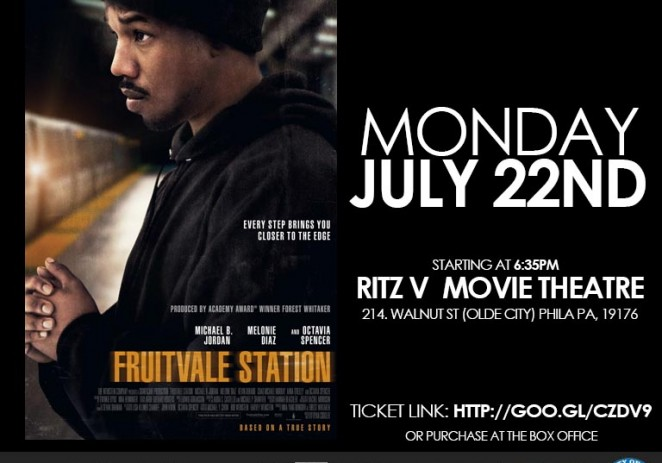 [EVENT] #FruitvaleStation (@fruitvalemovie) Screening/Panel Discussion #NoJusticNoSleepPhilly (Powered By: @TabbMGT)