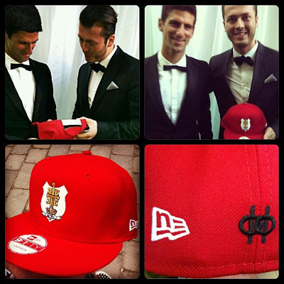 New Era (@NewEraCap) x Maison Filipi (@MaisonFilipi) for Novak Djokovic (@DjokerNole)