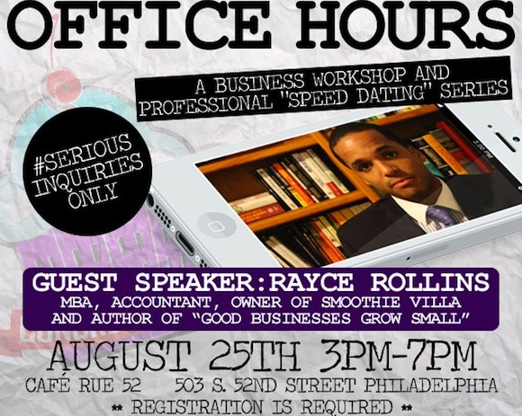 "[EVENT] ConcreteCakes.com Presents: Office Hours – A Business Workshop And Professional ""Speed Dating"" Series"