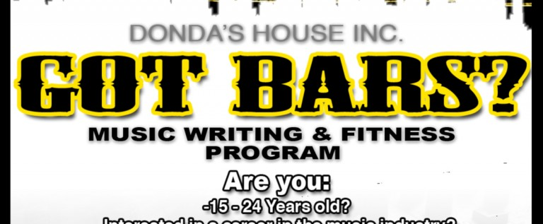 "Donda's House and the ARK of St. Sabina Join Forces for ""Got Bars"" Music Writing & Fitness Program"
