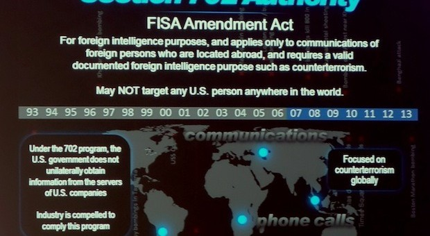 NSA Director Accused of Lying To Congress At Black Hat USA 2013 Keynote