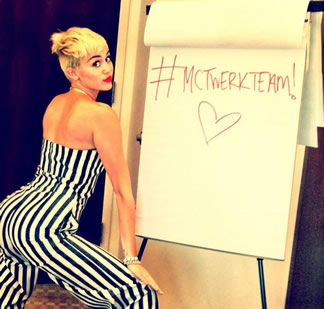 Miley Cyrus (@MileyCyrus) – Aint Worried Bout Nuthin Remix Feat French Montana (@FrenchMontana)