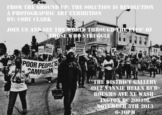 [EVENT] From the Ground Up: The Solution is Revolution – Fine Art Photography Exhibit Opening