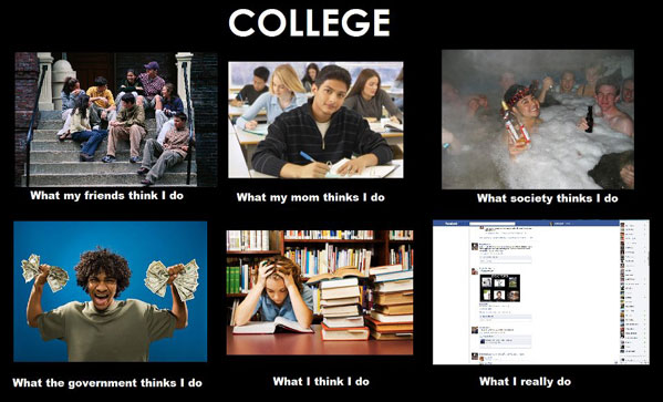 """College Struggles –  """"You On Your Own, Kid"""""""