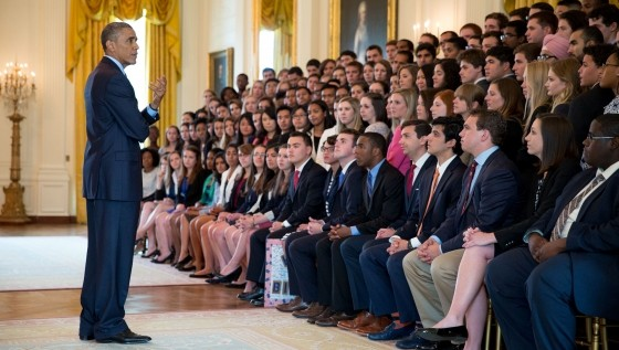 Apply for a White House Internship by April 19, 2015