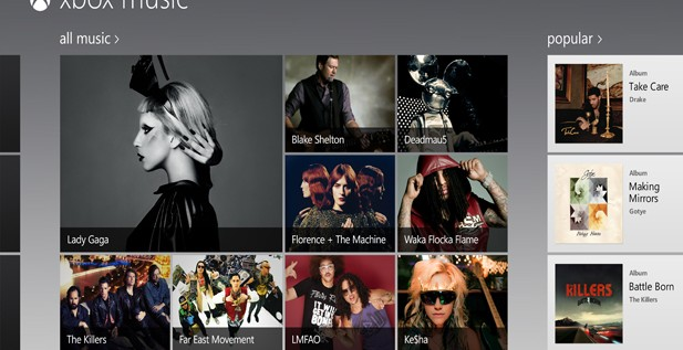 Microsoft Presses Play on New Xbox Music Service