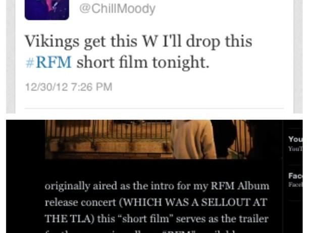 Chill Moody (@ChillMoody) – #RFM Short Film [VIDEO]