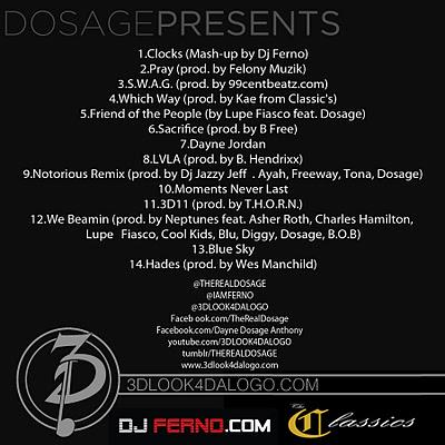 Dosage – 3D11 (Mixtape)