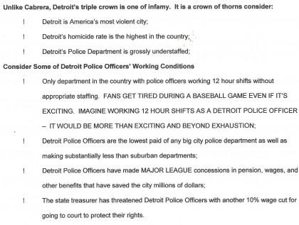"Police: ""Enter Detroit At Your Own Risk"""