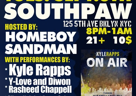 Kyle Rapps – Love Love 2 Feat. KRS-One & Homeboy Sandman (Air Redux)