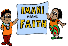 On The Seventh (Last) Day Of Kwanzaa: Imani (Faith)