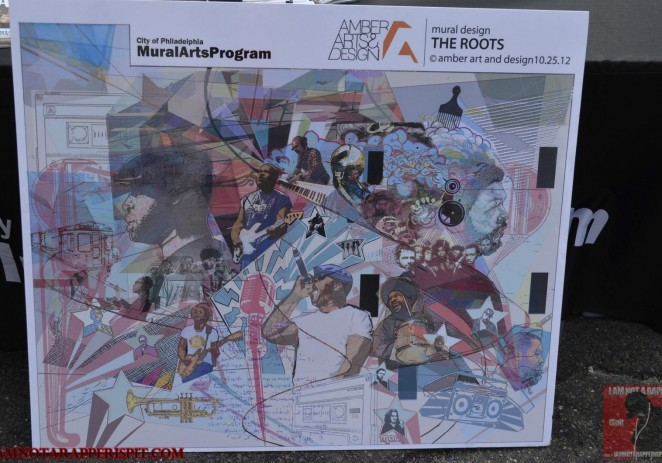 The Roots (@theroots) 2012 Mural Arts (@muralarts) Unveiling/Concert w/@DiceRaw @ChillMoody & More [PHOTOS]
