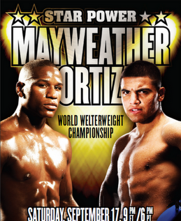 Floyd Mayweather Vs Victor Ortiz (Live Pay Per View Fight)