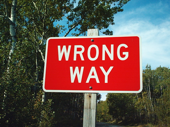 MANcation REVELATION: Youre Going The Wrong Way (By: @LanaDot)
