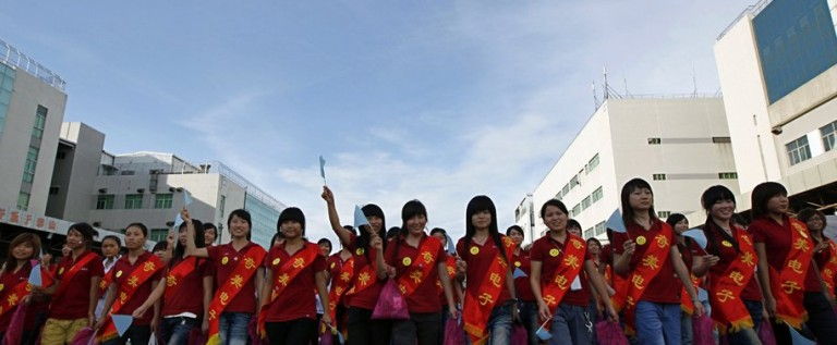 Foxconn Workers Go On Strike Over Insane iPhone 5 Demands, Disrupting Production