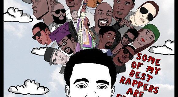 Tony Williams – Some Of My Best Rappers Are Friends #SOMBRAF (Mixtape)