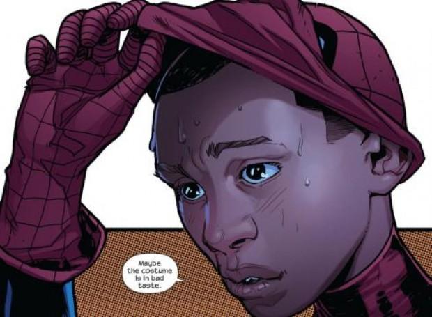 Half Black, Half Spanish Spiderman Revealed