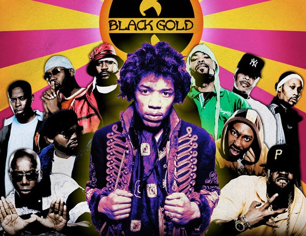 Relevant Classics: Wu-Tang Clan x Jimi Hendrix – Black Gold (Mixtape)