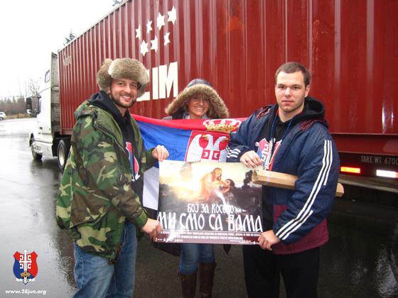 Filip Filipi (@FilipFilipi) Organization (@28JunOrg) Sends $1.5M Worth of Humanitarian Aid to Kosovo