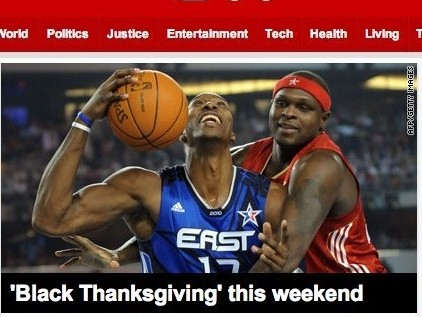 "CNN Calls NBA All-Star Weekend ""Black Thanksgiving"""