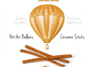 Roach Gigz (@RoachGigz) – Hot Air Balloons & Cinnamon Sticks [Mixtape]