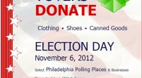 [EVENT] #DonationDropboxes Placed At Select Philadelphia Polling Locations November 6th