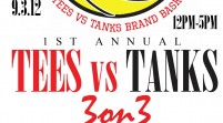 [EVENT]  K.R.T. (@Curran_J) 1st Annual Tees Vs Tanks 3on3 Basketball Tournament 9.7.12