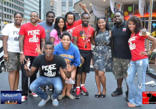 Hundreds Gather For 'Peace N Philly' (@PeaceNPhilly) #PeaceNPhilly By @NateLee1008