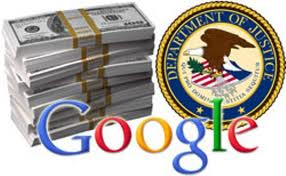 Department Of Justice Sting Costs Google $500 Million
