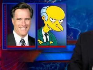 Jon Stewart Vs Mitt Romney's EPIC Video Leak [Video]