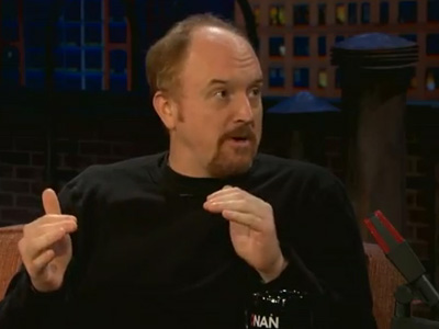 "Louis CK: Apple Is A Woman, Microsoft Is A Man…""The Next Steve Jobs Will Be A Chick"""