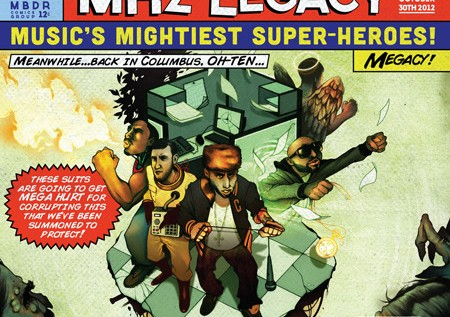MHz Legacy (@Copywrite @Tage27) – Spaceship Feat. Danny Brown (@XDannyXBrownX)