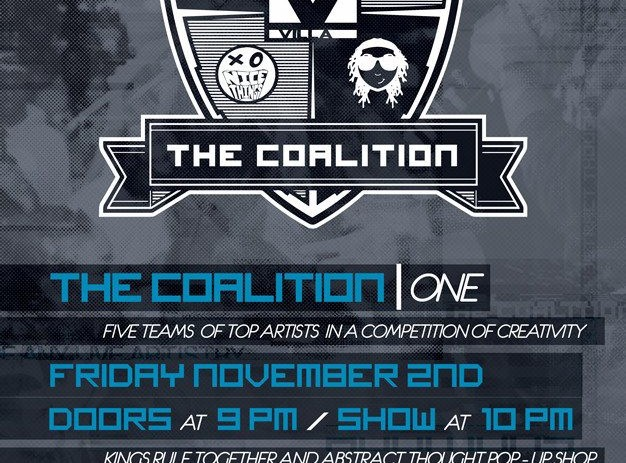 @RUVilla x @JustBeano x @Curran_J x @ChillMoody x @BillyAbstract Present: #TheCoalition ONE [PHOTOS]