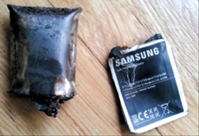 Samsung Note Explodes In Man's Pocket, Causes Bodily Burns