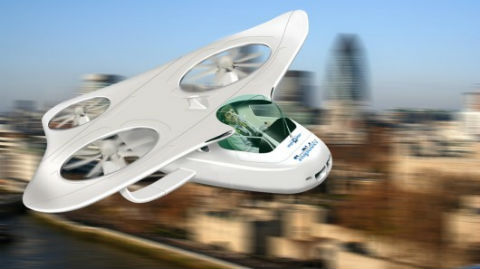 European Union Invests In Flying Cars