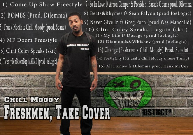 @ChillMoody &#8211; #FreshmenTakeCover [Mixtape]