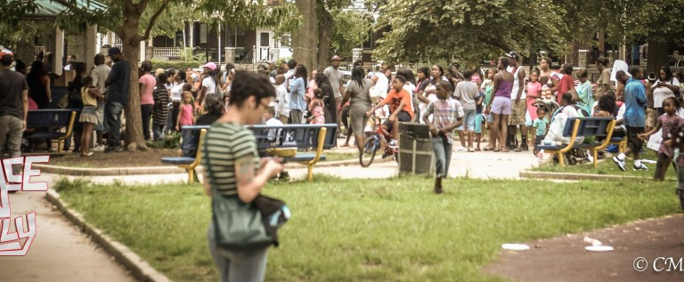 PeaceNPhilly(@PeaceNPhilly) x Nehemiah Davis Foundation(@NeoDaviso) x(@DTE__Tree) Bookbag Extravaganza [PHOTOS]