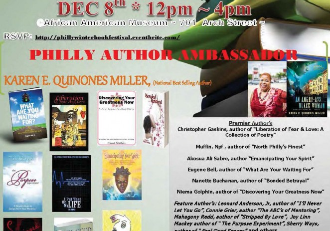 [EVENT] Philly Winter Urban Book Festival –  December 8th (@aampmuseum)