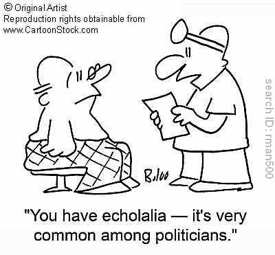 #IAmNotADictionary Word Of The Day: Echolalia