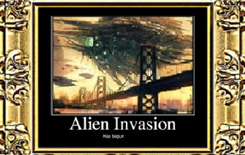 The Intermission + The Invasion – Bonus Short Story By: Eric Blair (@HeavyAsHeaven84)