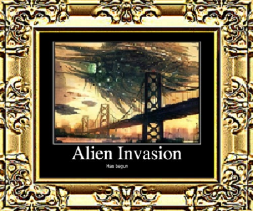 The Intermission + The Invasion &#8211; Bonus Short Story By: Eric Blair (@HeavyAsHeaven84)